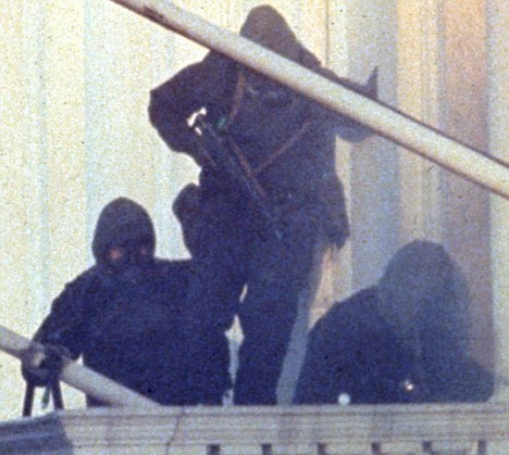 THE SIEGE AT THE IRANIAN EMBASSY, LONDON BRITAIN - 1980